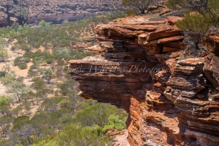 At Nature's Window in Kalbarri, Western Australia