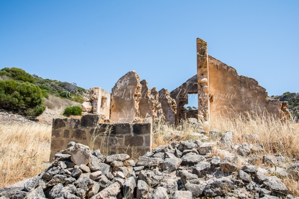 Ruins of a convict depot at Sanford's House nr Port Gregory, Kalbarri, Western Australia (1853 - 1856)