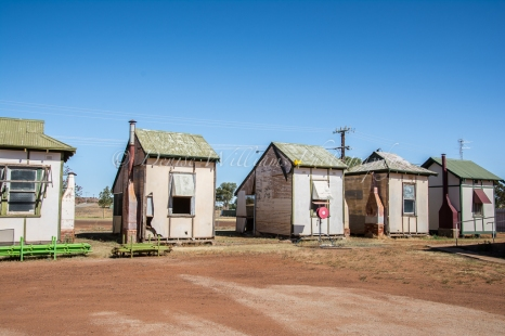 Pensioner Cottages at Cue, Western Australia