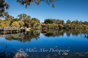 Gazebo at Tomato Lake, Kewdale, Perth WA